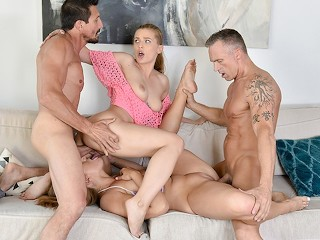 Free to watch russian gang bang